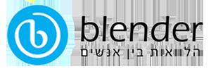 blender-בלנדר-לוגו
